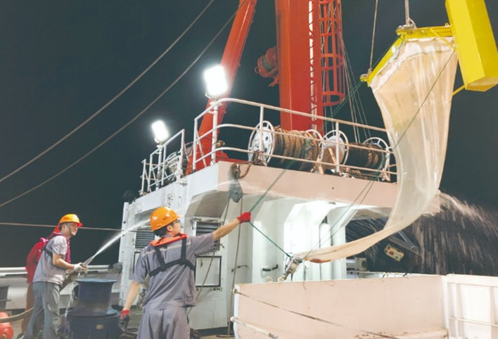 西太平洋海洋环境质量综合调查航次完成